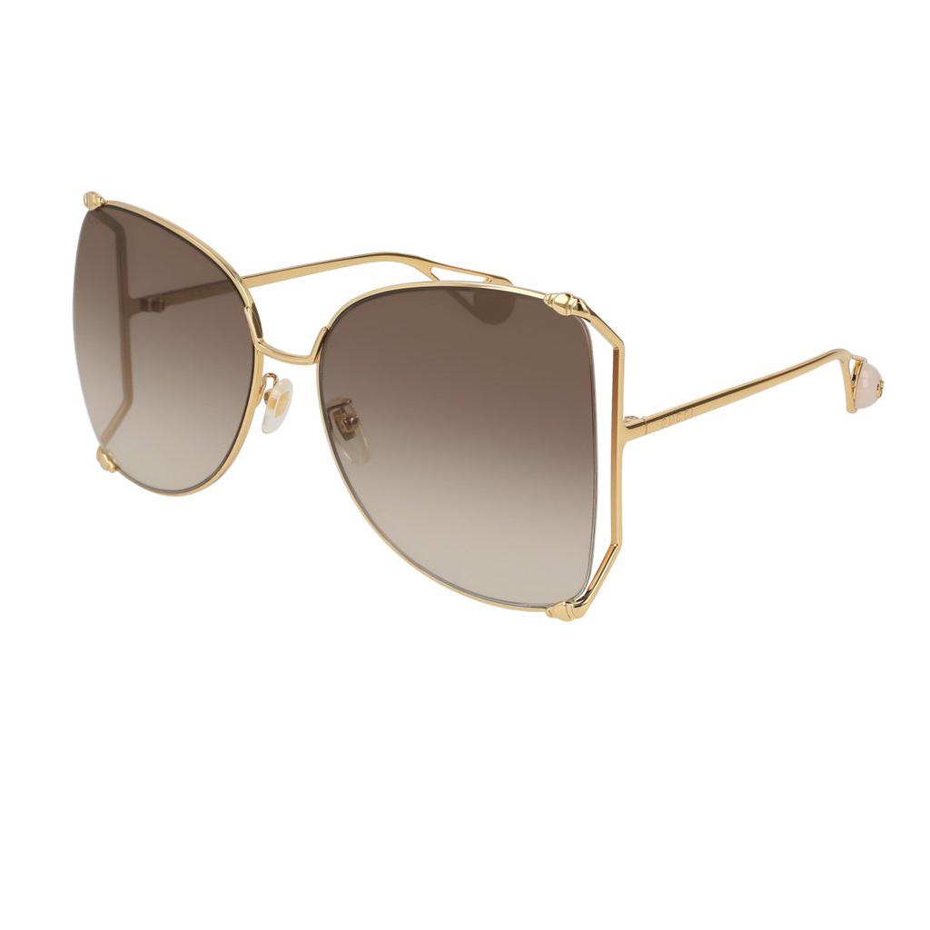 43323a426aa Shop Gucci GG 0252S zonnebrillen - Optiek Lammerant Deinze