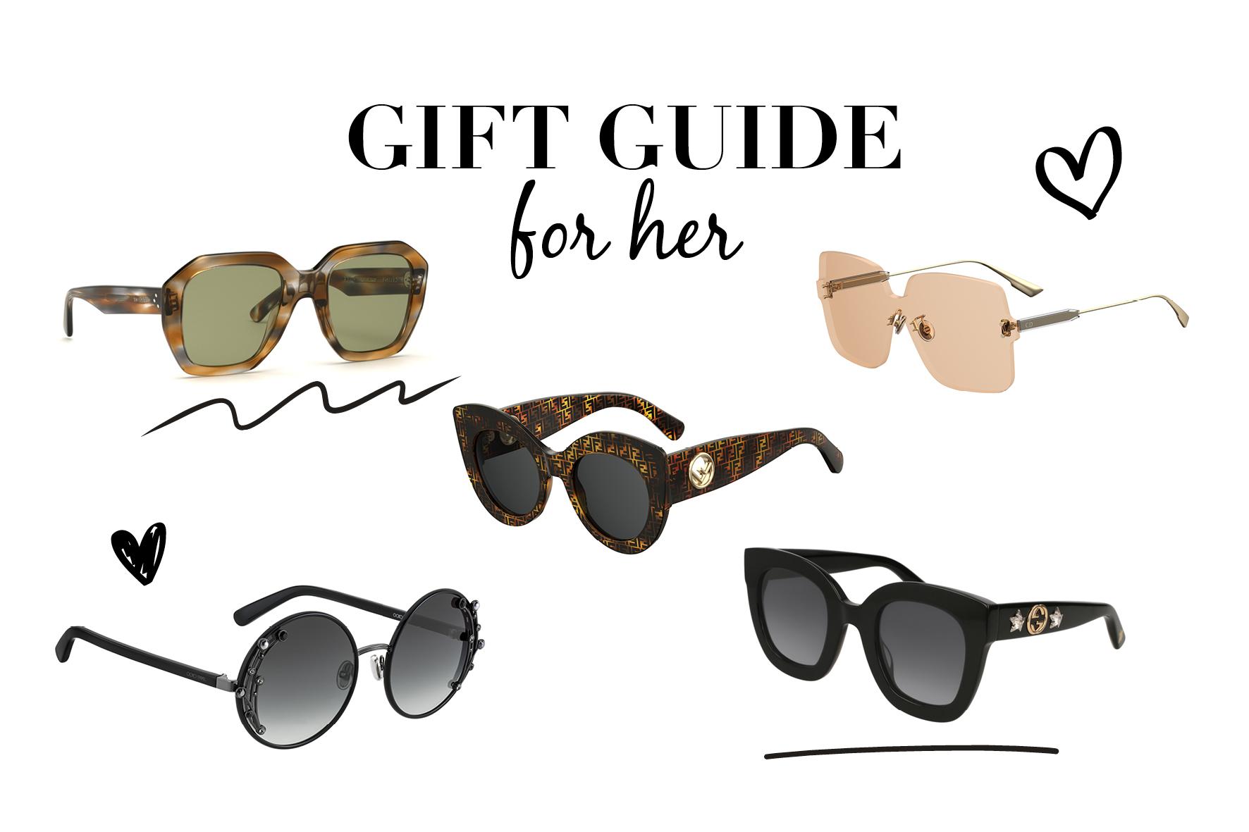 Black Friday gift guide: luxe zonnebrillen voor haar - Optiek Lammerant