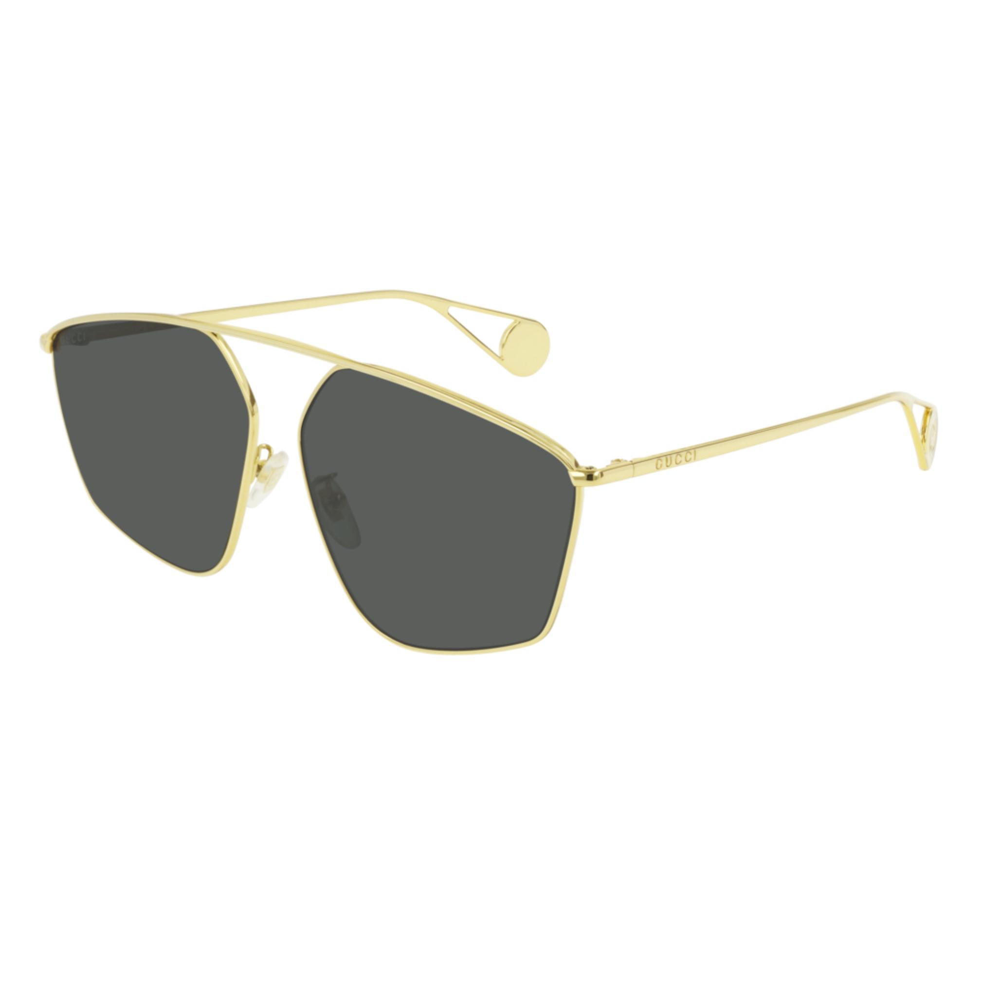 41285ad20a5 Shop Gucci GG0437SA zonnebril unisex - Optiek Lammerant Deinze