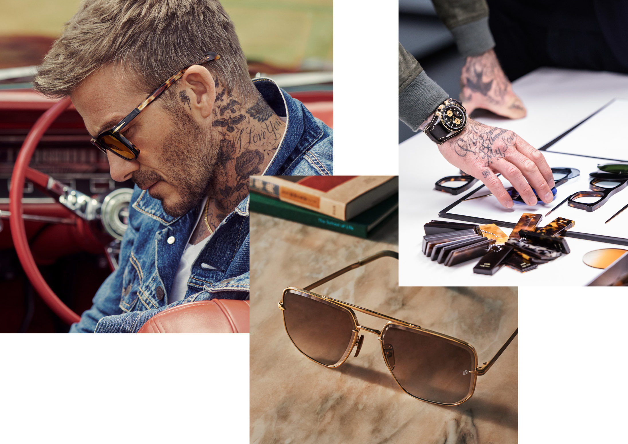 David Beckham eyewear zomer 2020 - optiek Lammerant