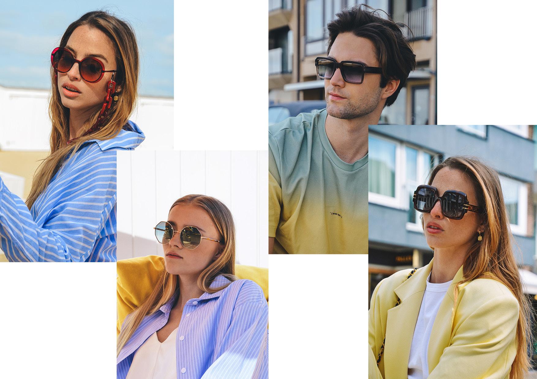 Magazine zomer 2021: zonnebrillen en trends - Optiek Lammerant Deinze